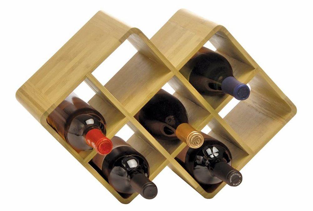 DIY Wine Rack Design