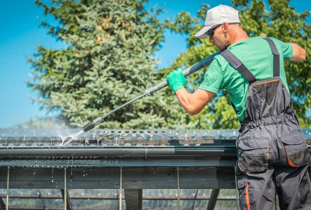 Rain Gutter Cleaning and Maintenance