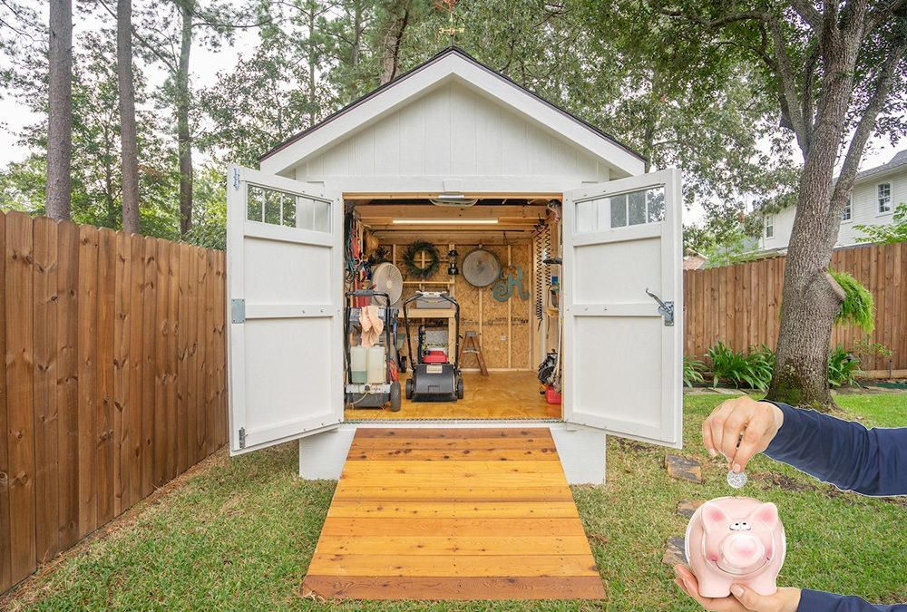 Save Time and Money With a Wooden Storage Shed Kit