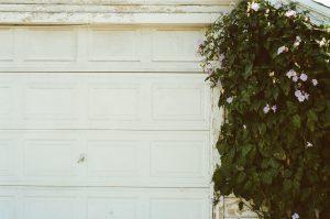 What happens if the garage door tracks broken